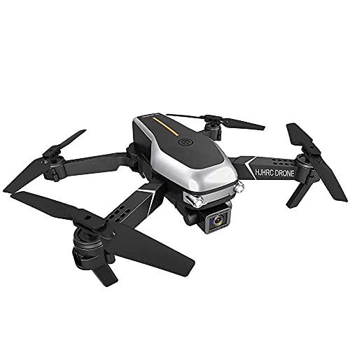 Drone plegable con cámara dual 1080P HD FPV WiFi RC Quadcopter para principiantes Fotografía aérea Aeronaves de control remoto con bolsa de almacenamiento, trayectoria de vuelo, VR Visual, Waypoint F