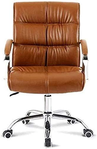 Bürostuhl Künstlicher Leder Swivel Executive Schreibtischstuhl mit Rädern, Stuhlstuhl Stuhl Computerstuhl Sessel