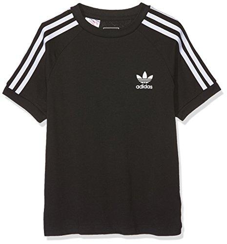adidas Jungen T-Shirt California, Black/White, 7-8 Years, CY2295