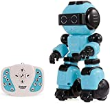 Zhangl Rastreadores inteligente robot de control remoto, baile del robot, robot de juguete recargable de Educación Temprana multifuncional USB, baile y el canto de Popular Science Educación Infantil E