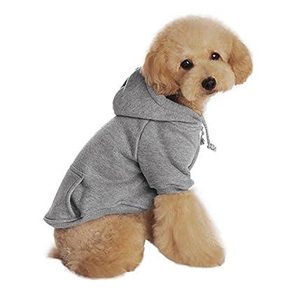 100% Nagelneu. Gute Qualität. Material:Baumwolle.Schöne,warme Farbe und die Kapuze lassen diesen Winter wärmer und lebendig. Sehr perfekte Hundbekleidung, entworfen für die Aufbewahrung Ihrer Haustier wohl und Mode, bietet Komfort Weiches Material zu...