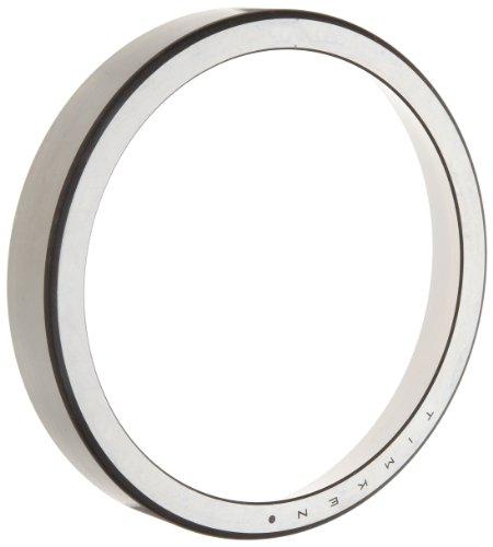 Timken JM822010 Kegelrollenlager, einzelne Tasse, Standard-Toleranz, gerader Außendurchmesser, Stahl, Zoll, 16,5 cm Außendurchmesser, 2,8 cm Breite