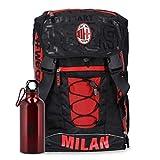 Zaino estensibile 60367 Milan rosso e nero con borraccia omaggio collezione 2019/2020