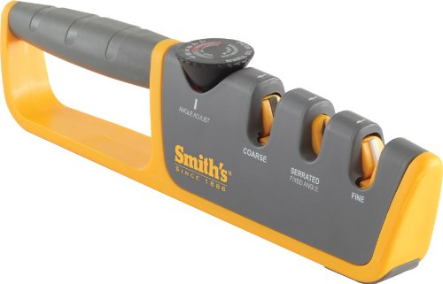 Smith's 50264 Adjustable Manual Knife Sharpener
