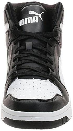 PUMA Rebound Layup SL, Zapatillas Unisex Adulto, Negro Black White, 43 EU