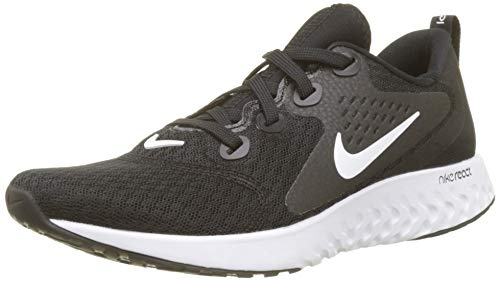 Nike Wmns Legend React, Zapatillas de Running para Mujer, Negro (Black/White 001), 40 EU