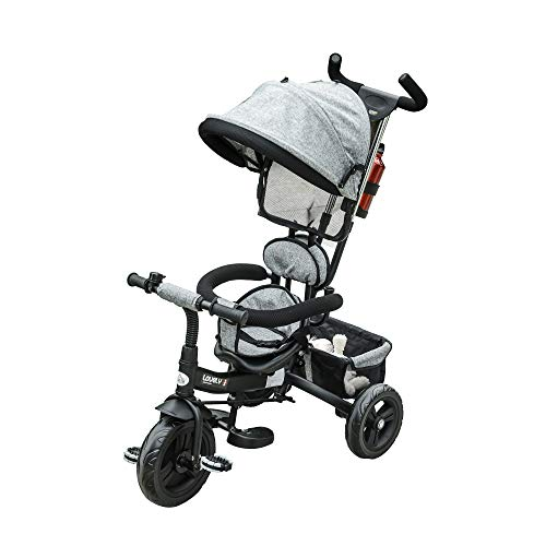 HOMCOM Triciclo para Bebé 4 en 1