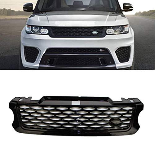 10JQK Parrilla de Malla de Repuesto de Rejilla Delantera de Coche, Rejillas Frontales de radiador Central de Parrilla Parachoques Delantero para Land Rover Range Rover Sport Car Vehicle 2014-2017