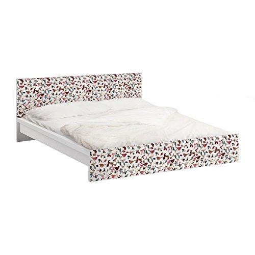 Vinilo adhesivo para muebles IKEA - Malm bed low 180x200cm Look Closer, Größe:77cm x 197cm