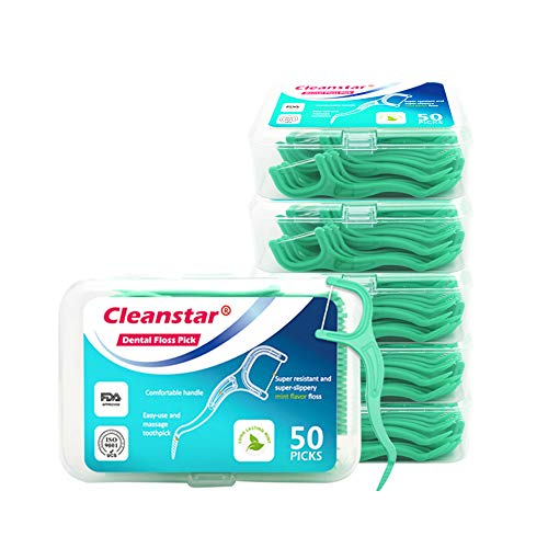 mreechan Zahnseide,300 Stück Zahnseide Sticks,Zahn Draht Zahnpflege Interdental Flossers,Einwegzahnseide Zahnreinigung Sticks,Zahnstocher kunststoff Zahnpflege Dental Floss Zahnreiniger Sticks.