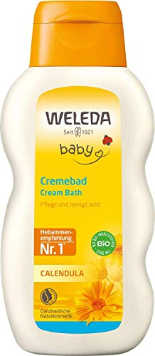 Weleda baby & child baño de crema de caléndula 200 ml