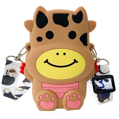 MINGPAI Mini monedero para niños bolso de dibujos animados fruta bolsa de mensajero para niña niño lindo (K1,small)