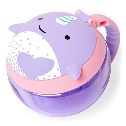 Skip Hop Zoo-Snack-Behälter – Narwal, violett