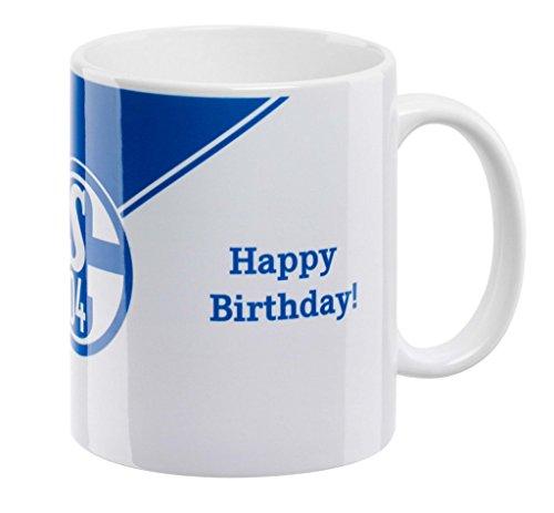 FC Schalke 04 Kaffeebecher 'Happy Birthday'