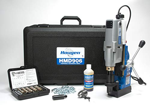 Save %15 Now! Hougen HMD906 115-Volt High Speed Magnetic Drill with Coolant Bottle Plus 1/2 Drill C...
