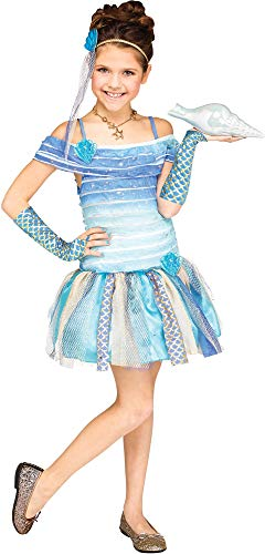Fun World Mermaid Costume, Medium 8 - 10, Blue