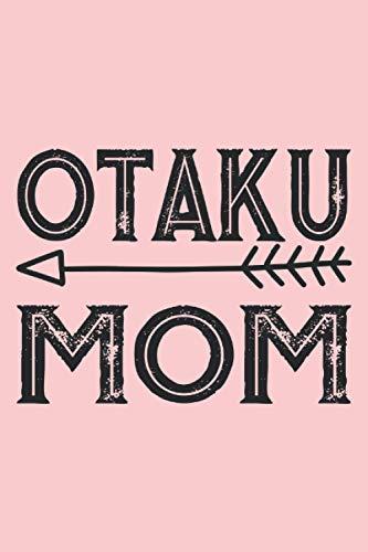 mamá otaku, cuaderno: Bonita idea de regalo para el Día de la Madre. Un gran regalo para la mejor mamá del mundo. También es ideal para futuras madres para su cumpleaños, Navidad y Pascua.