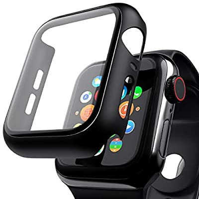 [ 2 Pack ] Case Compatible with Apple Watch Ser...