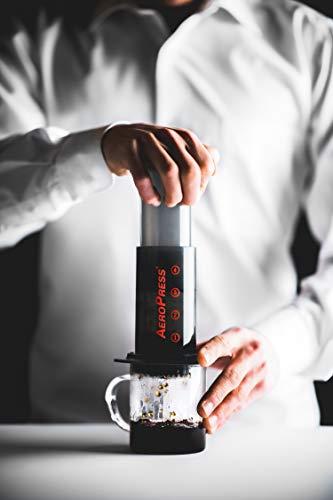 the Aero Press coffee maker
