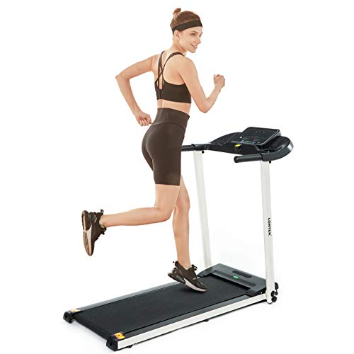 UMAY LONTEK Treadmill Running Machine for Home and Office, Foldable treadmill with 12 programs,LCD screen
