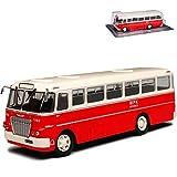 alles-meine.de GmbH Ikarus 620 DDR Bus Reisebus Rot 1/72 Modellcarsonline Modell Auto Modellcarsonline Modell Auto
