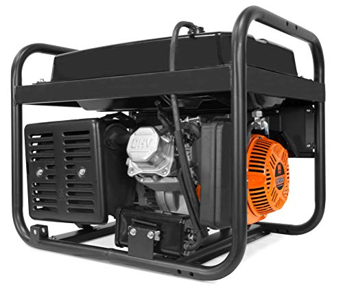 WEN 56475 4750-Watt Portable Generator with Electric Start and Wheel Kit 4