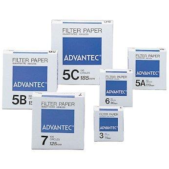 Advantec N05C11.0CM Grade 5C Lt; Ranking TOP2 Ashless Quantitative Max 50% OFF Filters