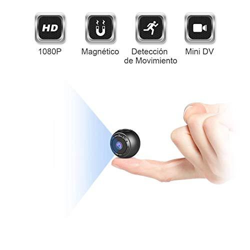 ZZCP Mini Camara Espia Oculta, HD 1080P Portátil Camaras de Seguridad Inalambricas Videocamara Discretas…