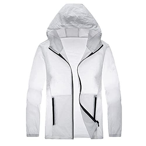 Verano ultra delgado transpirable chaqueta hombres anti-ultravioleta hombres protección solar