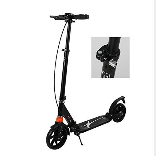 LFLDZ Elektro-Folding Roller, 8-Zoll Portable Mini Folding Elektro-Scooter 2-Rad-Booster Aluminiumlegierung elektrischer Roller Kind Erwachsene