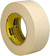 3M 202 crêpetape, 18 mm x 50 m, beige (48 stuks)