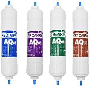4EA Economy Replacement Water Filter Set Reservation security : for LG purifier water