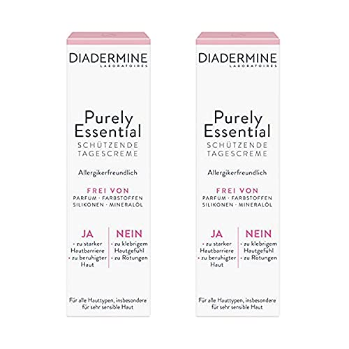 Diadermine Purely Essential Tagespflege Tagescreme, 2er Pack(2 x 40 ml)