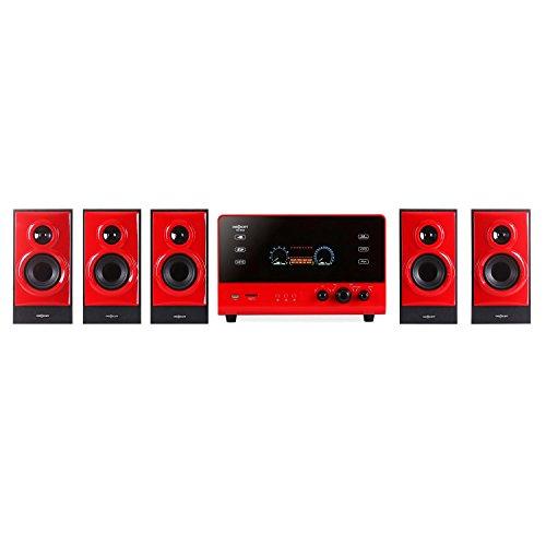 OneConcept V51-5.1 Surround Sound Edition, Home Cinema System, 70W RMS,...