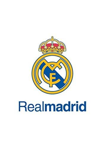 Grupo Erik Editores Postal A4 Real Madrid Escudo