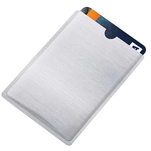3X RFID Blocker Schutzhülle | für Kreditkarte Bank-Karten Scheckkarten Ausweis Perso | NFC EC-Karte Datenschutz Abschirmung Schutz Hülle Etui