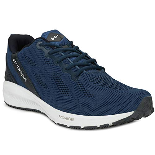 Campus Men's Maxico MODBLU-BLU Running Shoes-9 UK/India