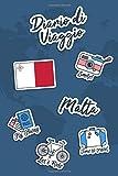 Diario di Viaggio Malta: Diario di viaggio da compilare | 106 pagine, 15,24 cm x 22,86 cm | Per accompagnarvi durante il vostro soggiorno