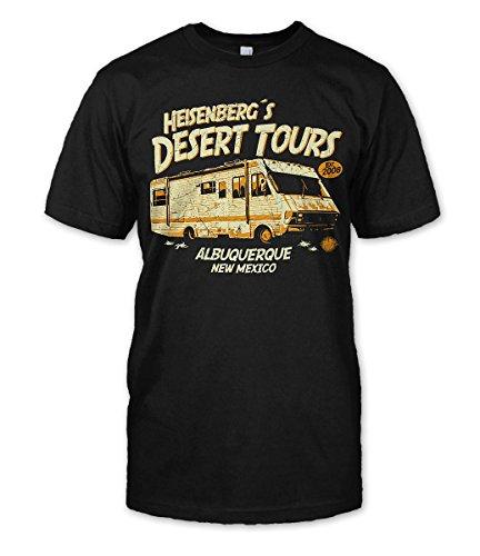T-Shirt Breaking Bad Heisenberg's Desert Tours (M)