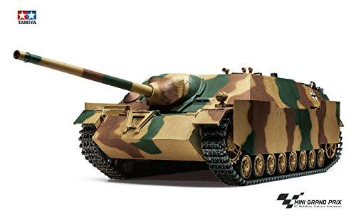 TAMIYA 300056039 1:16 Jagdpanzer IV/70(V) Lang Full Option, Bausatz, zum Zusammenbauen, bebilderte Aufbauanleitung, RC Panzer, Modellbau, Hobby, orginalgetreu, detailliert, unlackiert