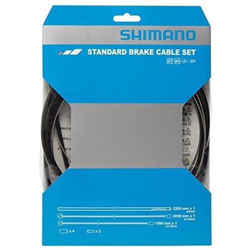 Shimano Damen Bremskabel-set Bremszug, schwarz