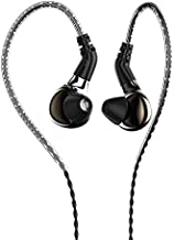 HiFiHear BLON BL03 in Ear Earphone,10mm Carbon Diaphragm Dynamic Drive Bass HiFi DJ in Ear Monitor, Diamond Mirror Process in Ear Headphone with 2pins Detachable Cable Wired Earphone (Gun No Mic)