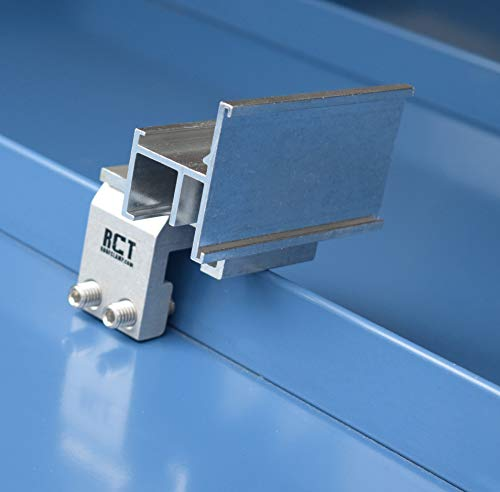 SnoCleat RCT Individual Seam Mounted Clamp-On Snow Guards for Standing Seam Metal Roofs