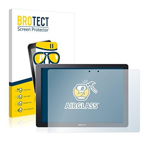 BROTECT Panzerglas Schutzfolie kompatibel mit Samsung Galaxy TabPro S - AirGlass, 9H Festigkeit, Anti-Fingerprint, HD-Clear