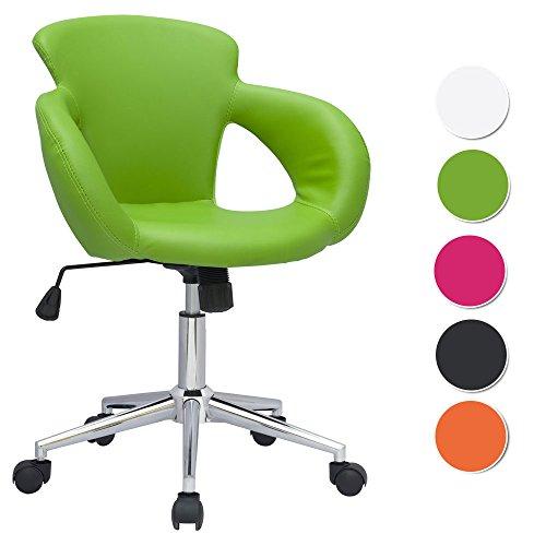 SixBros. Bürostuhl Schreibtischstuhl Drehstuhl Grün M-65335-1/2062