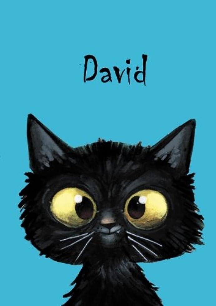 多様性今化粧David - Coloring Book / Notebook / Diary - DIN A5 - cat – blank