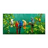 Wandkunst , Natur Landschaft Leinwand Malerei Tropischer