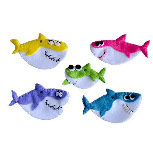 Set 5 pcs Baby Shark Finger Puppets