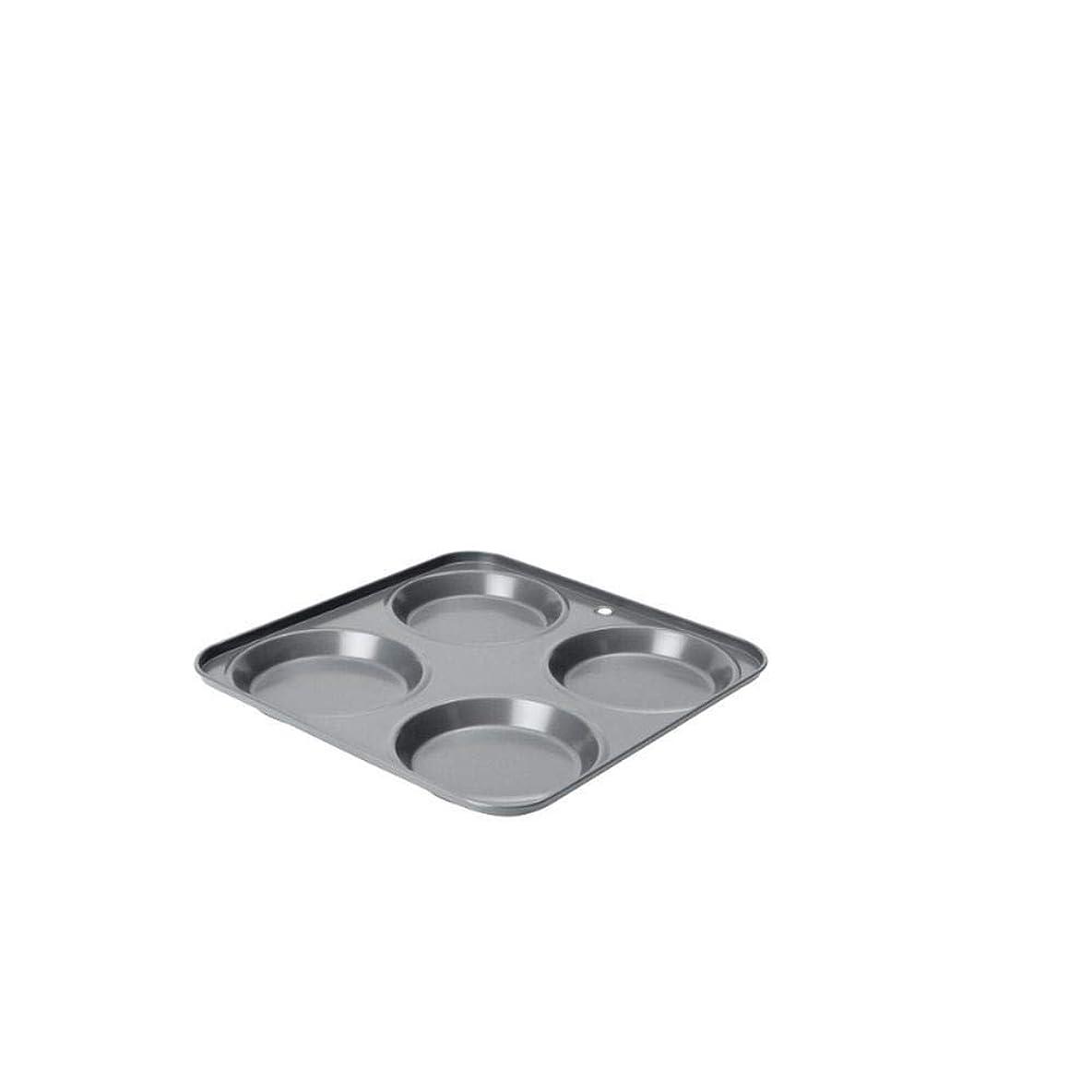 罰立法キャンディー[Dexam] ノンスティックフラットキャップヨークシャープディングパンDexam、4カップ - Dexam Non-Stick Flat Cap Yorkshire Pudding Pan, 4 cup [並行輸入品]