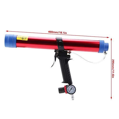 Pneumatischer Glaskleber-Dichtungspistolen-Satz, pneumatischer Glaskleber-Dichtungspistolen-Kartuschen-Luftgewehr 300~600ML